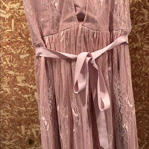 Hitherto bridesmaid dress